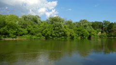 Humber River Toronto Park Stock Footage