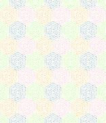 Modern Seamless Dotted Pattern - stock illustration