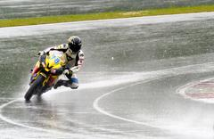 Motorcycle Race Cup Moscow Region Governor Stock Photos