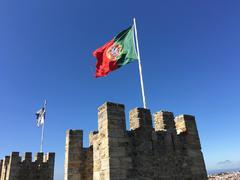 Castelo de S. Jorge Stock Photos