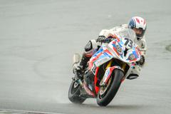 Motorcycle Race Cup Moscow Region Governor - stock photo