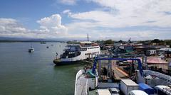 Arriving in Puntarenas Stock Photos