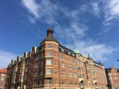 Architecture in Copenhagen Stock Photos