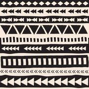 aztec  background - stock illustration