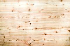 Background of empty pine wood panel - stock photo