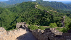 Mutianyu Great Wall Stock Footage