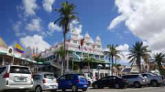 Royal Plaza Mall Aruba - stock photo