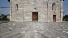 In italy lonate pozzolo ancient religion building for catholic. Stock Footage