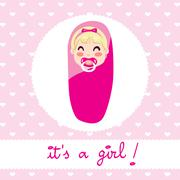 Baby Girl Design Piirros
