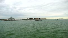 Venetian lagoon, Stock Footage