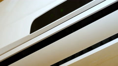 Air conditioning close-up Stock Footage