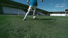 Soccer Talent Stock Footage