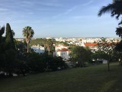 Albufeira city view Stock Photos