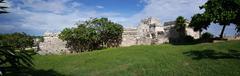 Ancient Mayan fortress Stock Photos