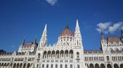 The Hungarian Parliament Building Stock Photos