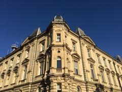Architecture downtown Zagreb Stock Photos
