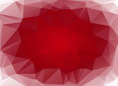 red abstract background gradient circle - stock illustration