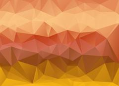 Low poly tones rocky linear gradient background Stock Illustration