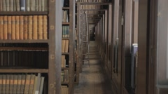 Trinity College Dublin, Ireland Library and Grounds Stock Footage