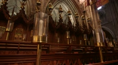 St. Patrick's Cathedral Dublin, Ireland - stock footage
