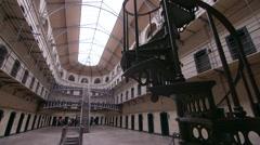 Kilmainhaim Jail (Gaol) Dublin, Ireland Stock Footage