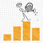 Business Growth Stock Illustration
