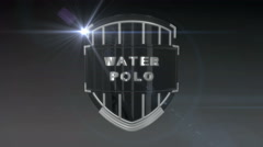 Water Polo - Chrome Stock Footage
