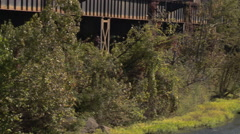 James River, Richmond, VA. Stock Footage