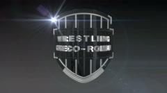 Wrestling Greco-Roman - Chrome Stock Footage