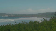 The beach at Carmel-By-The-Sea Stock Footage