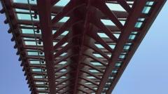 Venice Santa Lucia Railway station - ferrovia Stock Footage
