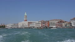 Beautiful skyline of Venice Stock Footage