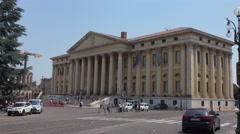 Verona City Hall - Municipio Di Verona Stock Footage
