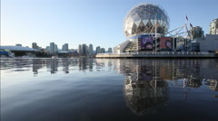 Science World, Vancouver, BC, Canada Stock Footage