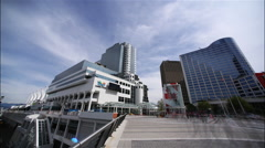 Canada Place, Vancouver, BC, Canada Stock Footage