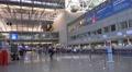4k Terminal panning shot International Airport Frankfurt Main Footage