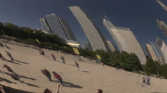Cloud Gate. Chicago, Illinois Stock Footage