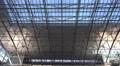 4k Terminal tilt down International Airport Frankfurt Main Footage