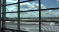 4k Terminal panning window airfield International Airport Frankfurt Main 4k or 4k+ Resolution