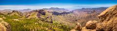 Gran Canaria landscape - stock photo