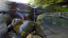 Small Waterfall in the Australian Bush  Stock Footage