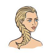 Pisces - astrological symbol Stock Illustration