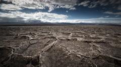 Salt flats, Death Valley National Park, California - stock footage