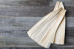 Corn Husks for Tamales Stock Photos
