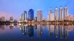 Bangkok city Stock Footage