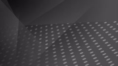 Abstract black dotted video animation - stock footage