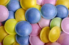 Background. Multi-colored candy. Stock Photos