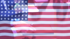Sign contract america  Stock Footage