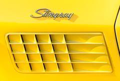 Corvette Stingray Stock Photos