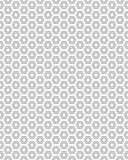 Pattern with hexagons Stock Illustration